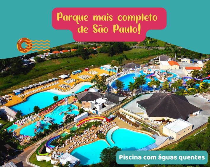 Mapa do evento Thermas Hot World